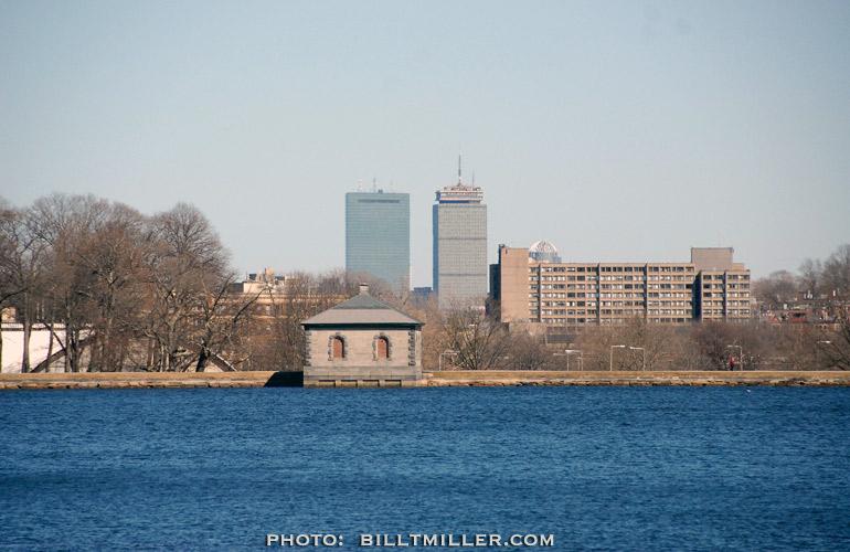 RESERVOIR BOSTON by Bill T Miller