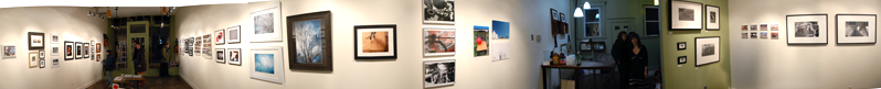 AVIARY SHOW PANORAMIC by Bill T Miller