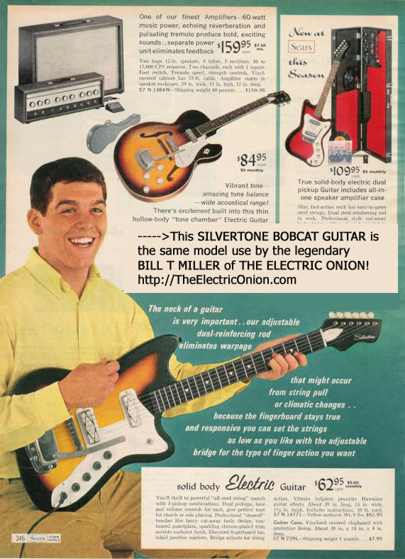 The Electric Onion - BTM Sears Silvertone BobKat Guitar