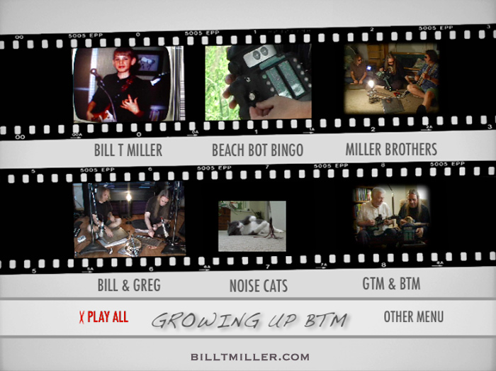 Growing Up BTM DVD MENU 1
