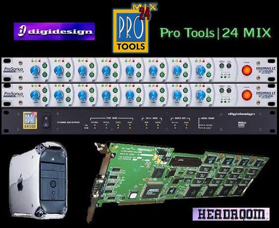 Headroom - Pro Tools Mix - Bill T Miller