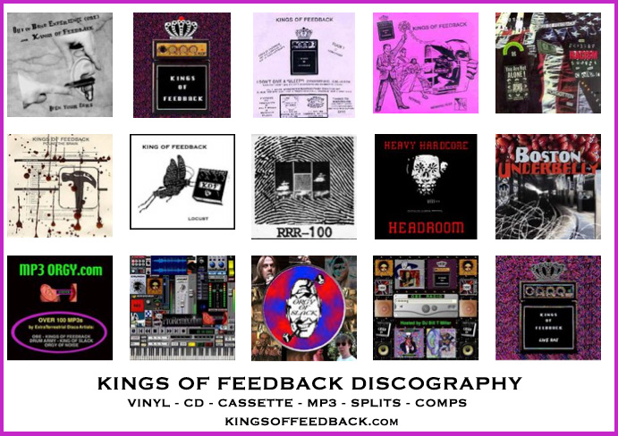 KINGS OF FEEDBACK DISCOGRAPHY