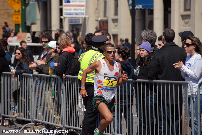 Boston Marathon 2011 by Bill T Miller