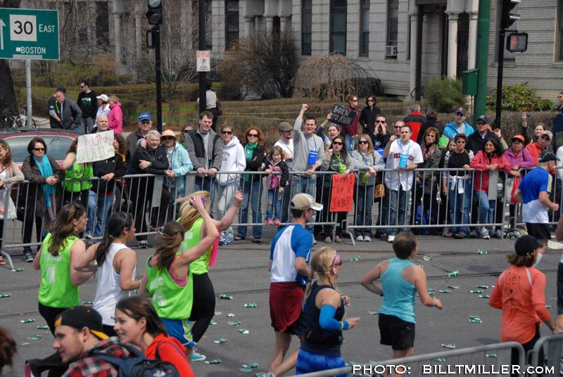 Boston Marathon 2011 by Bill T Miller