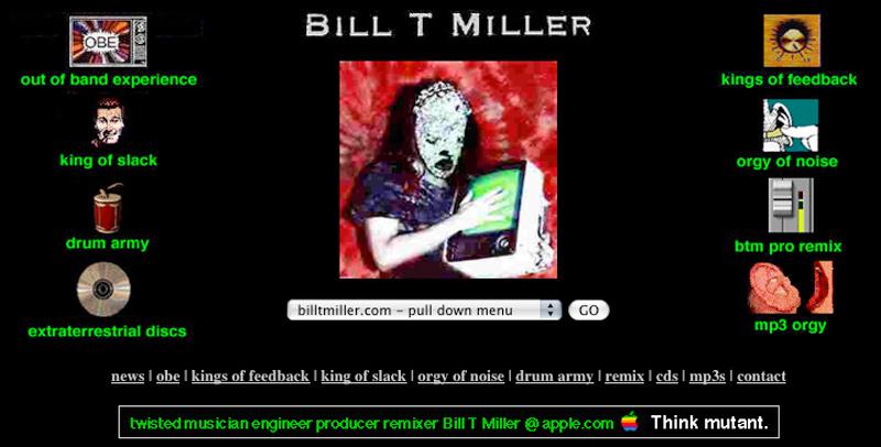 BTM = Bill T Miller