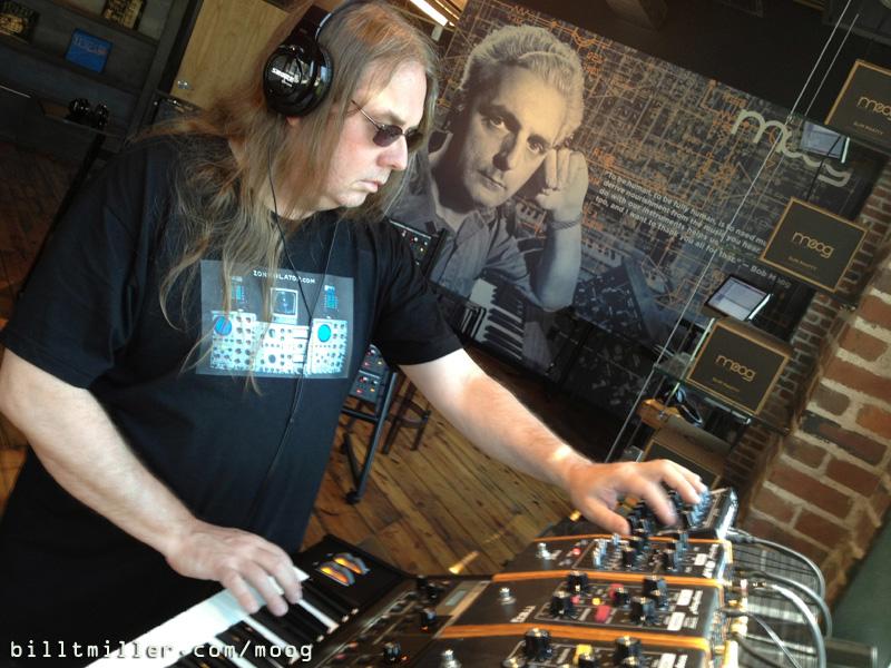 Bill T Miller - Moog