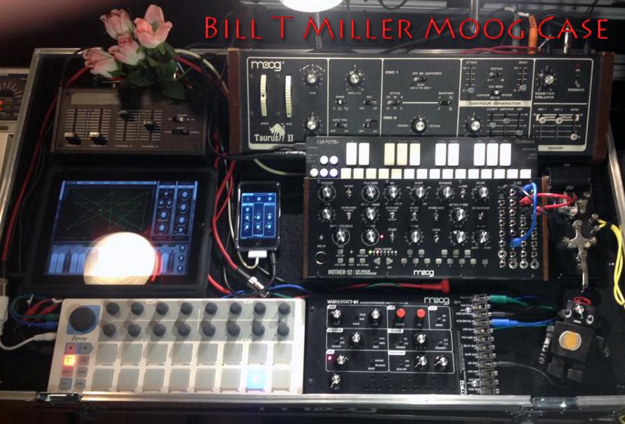 Bill T Miller - Moog Road Case Rig