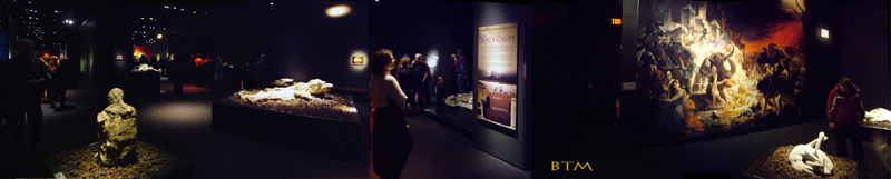 Panorama of Pompeii Exhibit at MOS