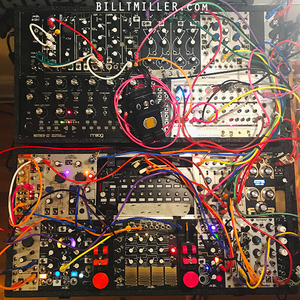 BILL T MILLER on MODULAR SYNTHESIZER