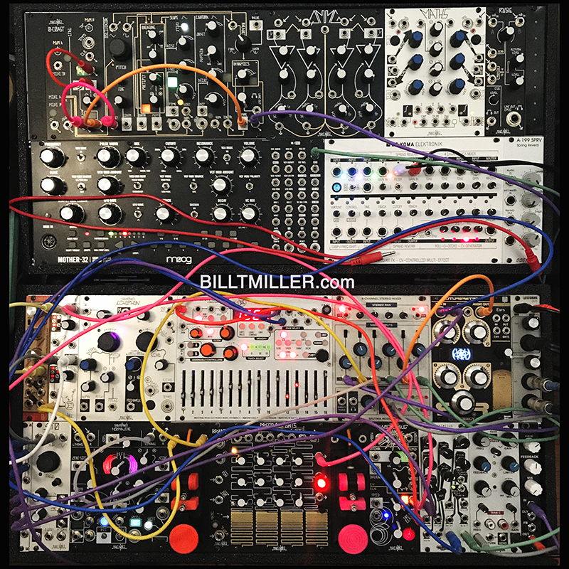 BILL T MILLER - SYSTEM BTM MODULAR SYNTH