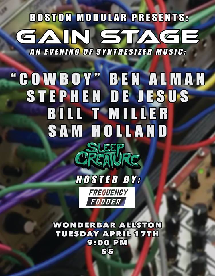 BILL T MILLER @ GAIN STAGE at WONDER BAR