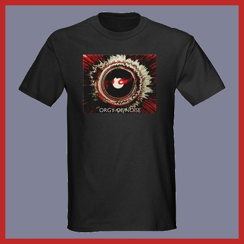 ORGY OF NOISE SPIN ART T-SHIRT