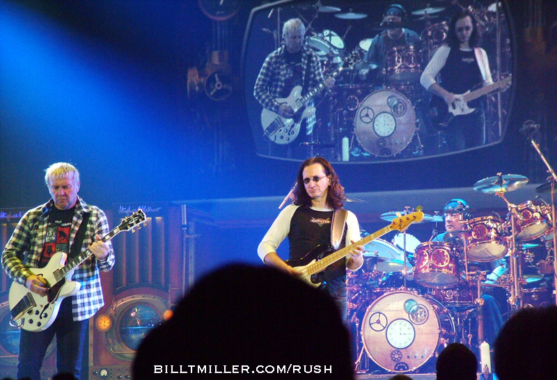 RUSH ENCORE - PHOTOS by BILL T MILLER