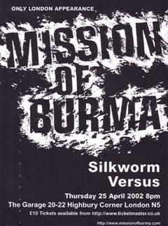 Mission Of Burma ONLINE