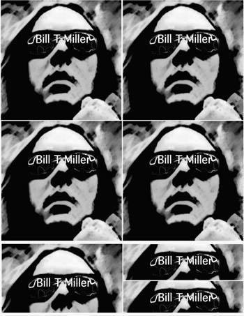 BILL T MILLER STICKERS